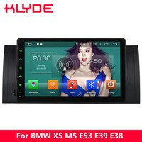 KLYDE 9 IPS 4G Octa Core Android 8 4GB RAM 32GB ROM Car DVD Player For BMW M5 E39 1995 1996 1997 1998 1999 2000 2001 2002 2003