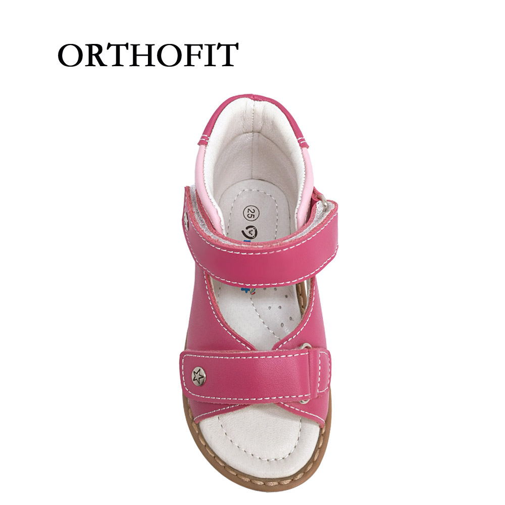 582894a575 Latest Russian Design Hot Selling Summer Girls Flat Feet Orthopedic Shoes  Kids Healthy Lovely Sandals Girls-in Sandals from Mother & Kids on  Aliexpress.com ...