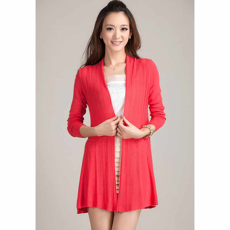 여성 롱 니트 가디건 코트 2019 봄 여름 캔디 컬러 니트 스웨터 여성 캐주얼 크로 셰 뜨개질 판초 코트 플러스 사이즈 1039