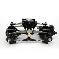 1 Set Metal Rear Suspension for TAMIYA 1/14 RC Truck Axles Accessories DIY Model RC Car Spare Parts