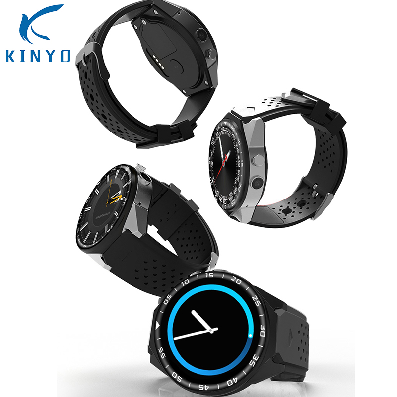 2018 best selling Smart Watch with 2MP Camera 2GB RAM 16GB ROM SIM Card 3G WIFI GPS Smartwatch 24 hours Heart rate monitoring цена