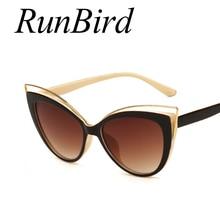 Fashion Classic Women Brand Designer Cateye font b Sunglasses b font Female Vintage font b Lady