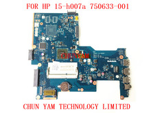 750633-001 For HP 15-h007a Laptop Motherboard ZS051 LA-A996P REV:1.0 750633-501 E1-2100 mainboard 100% Tested 90 Days Warranty