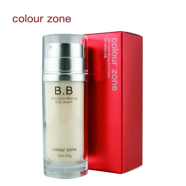Colour zone isolation bb nude makeup concealer foundation moisturizing sunscreen diy palette