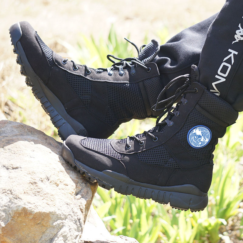 2017 Outdoor Army Boots Light Men's Military Desert Tactical Shoes Autumn Breathable Combat Ankle Boots Botas Tacticos Zapatos
