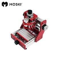 MOSKI, станок с ЧПУ, cnc1310, гравировальный станок для металла, мини станок с ЧПУ, станок с ЧПУ, ПВХ печатная плата Алюминиевая медная гравировальн