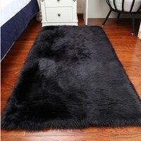 Faux Sheepskin Rug Natural Artificial Sheepskin Rug Mat Carpet Faux Fur Blanket Decorative Blankets For Bed Fur Home