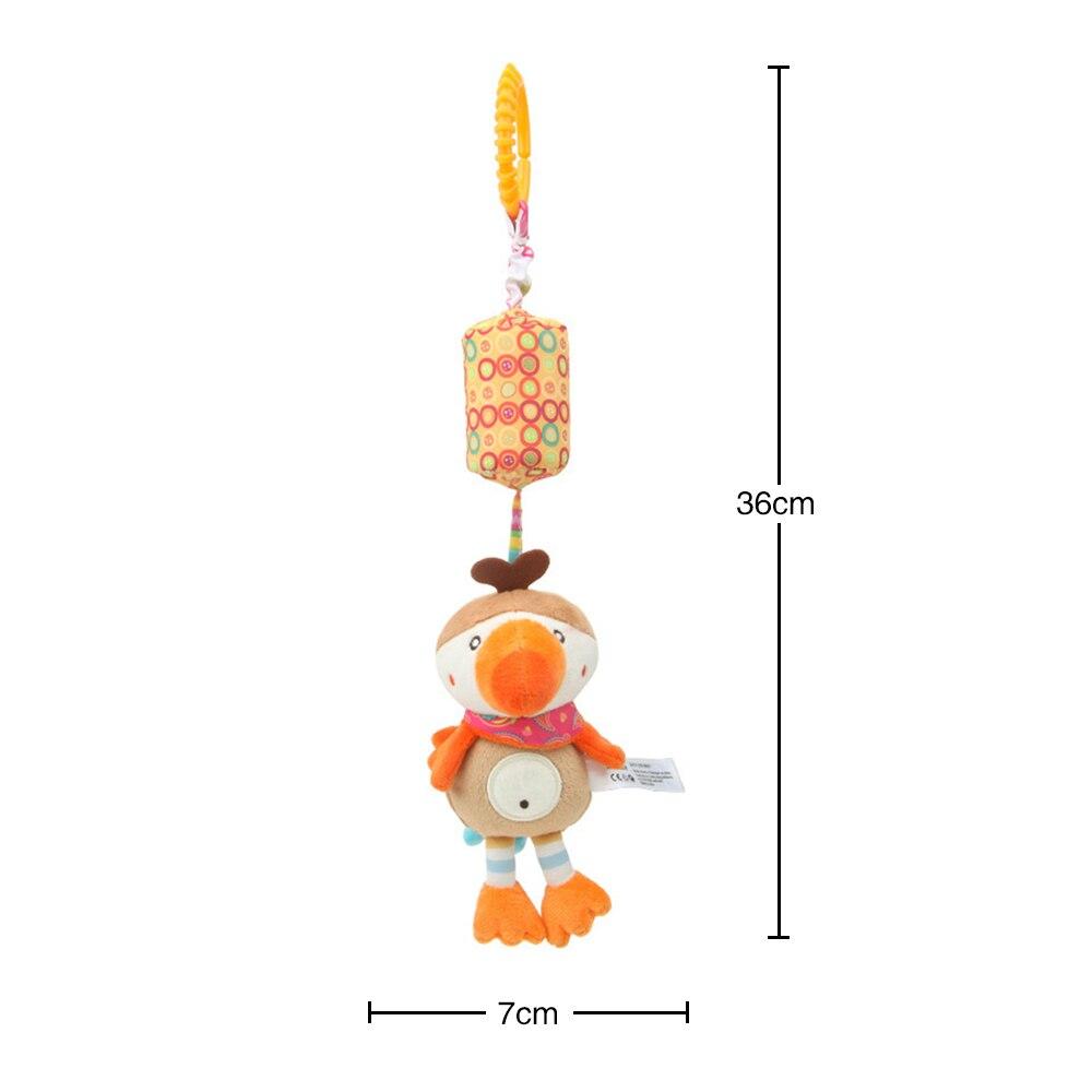 Детские погремушки Fulljion, развивающие игрушки для детей, Прорезыватель для зубов, Колокольчик для малышей, детская коляска, подвесные куклы - Цвет: bird