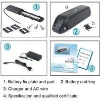 48V 10.4Ah/13Ah Hailong Ebike Battery with LG/Samsung Cell 48V Batteries for Bafang 750W 1000W