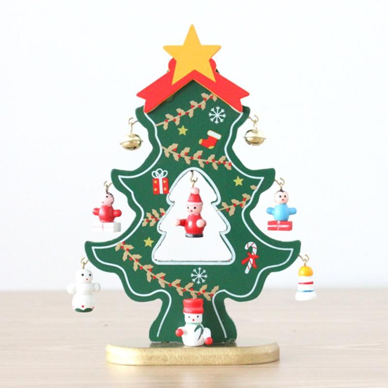 tienda online navidad adornos navideos de madera diy del rbol de navidad de escritorio coche oficina adornos haz un regalo festivo y