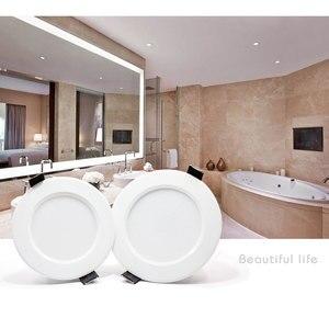 Image 5 - 10 adet kısılabilir su geçirmez led Downlight AC220V 230V 5W 7W 9W 12W 15W 18W LED kapalı lamba gömme LED Spot ışık banyo