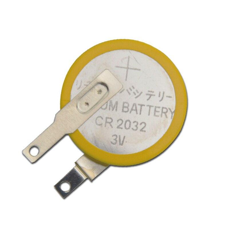Nouveau 40 pcs/lot CR2032 onglets soudure pied soudure batterie Coin Batteries 210 mAh 3 V bouton 2032 batterie cellulaire usine
