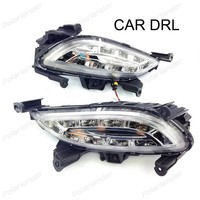 1 Set Car Styling Daytime Running Lights For H Yundai S Onata 2010 2012 Drl Led