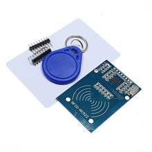 MFRC-522 RC522 RFID RF Module Kit w/Card Keychain for Arduino SPI Writer Reader IC Card acm38u y3 contact smart card reader module rfid writer rfid reader
