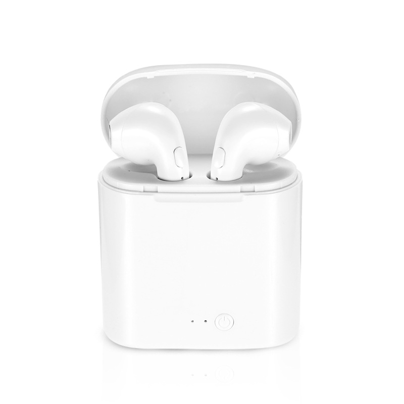 New Version Auto Pairing I7s TWS Wireless Bluetooth Earphone Stereo Earbud Headset With Charging Box Mic For All Smart Phone