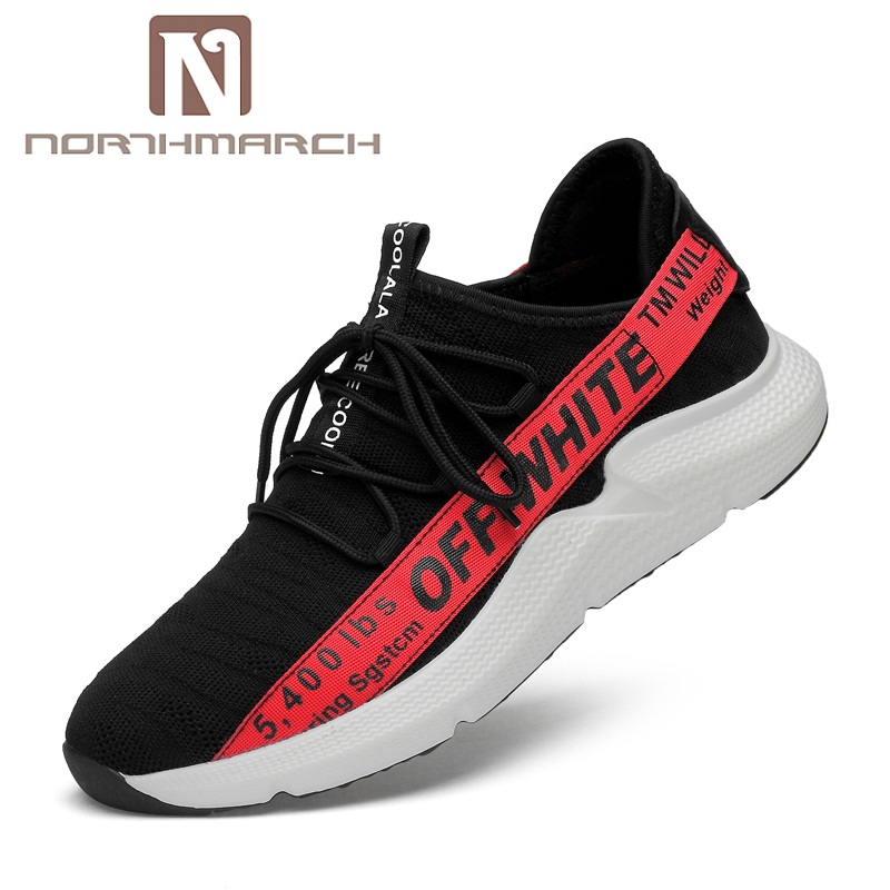 NORTHMARCH Spring/Autumn Brand Genuine Leather Men Shoes Elastic Breathable Men Casual Shoes Men Flats Sneakers Shoes Zapatillas northmarch brand new shoes men casual sneakers men fashion breathable designer shoes lace up flats man shoes zapatillas hombre