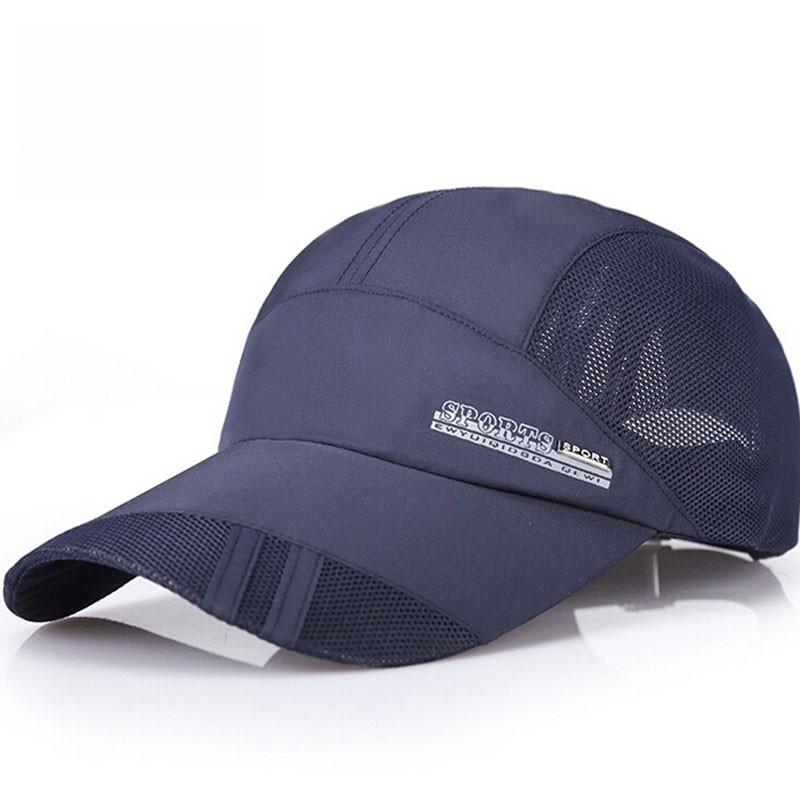 Nové letní pánské prodyšné síťované čepice Baseballové - Příslušenství pro oděvy - Fotografie 2