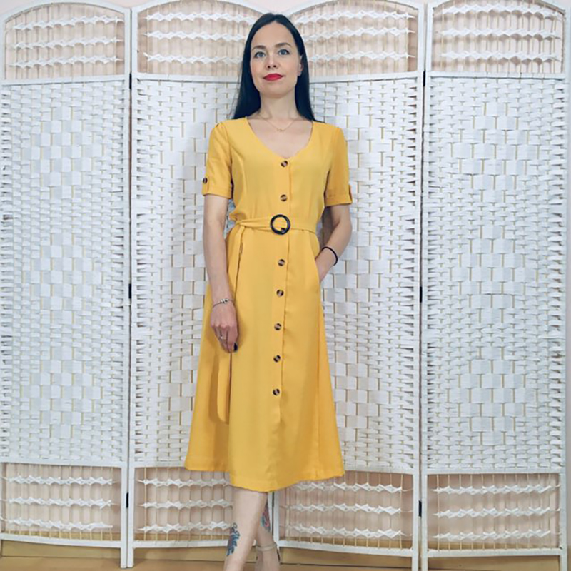 Women Summer Casual bandage Dress Short Sleeve V Neck Stripe Slim Button Elegant Long Shirt dress Vestidos robe femme-in Dresses from Womens Clothing on Aliexpresscom  Alibaba Group