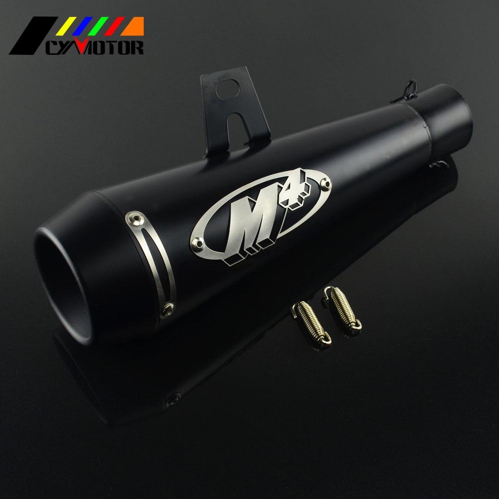 51mm Universal Motorcycle Exhaust Muffler Pipe Case For Yoshimura Honda Yamaha Kawasaki CBR1000 R1 R6 Dirt Pit Motocross Bike