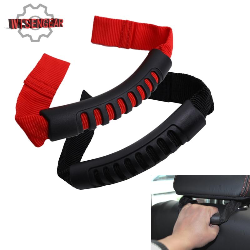 Car Interior Parts Seat Headrest Roll Bar Grad Handle Bar For Jeep Wrangler JK Unlimited Rubicon Sahara Freedom 2007-2016 #CE025