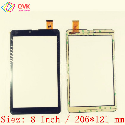 Black 8 Inch For Irbis TZ874 TZ872 TZ885 TZ865 TZ857 3G 4G Capacitive Touch Screen Panel Repair Replacement Spare Parts