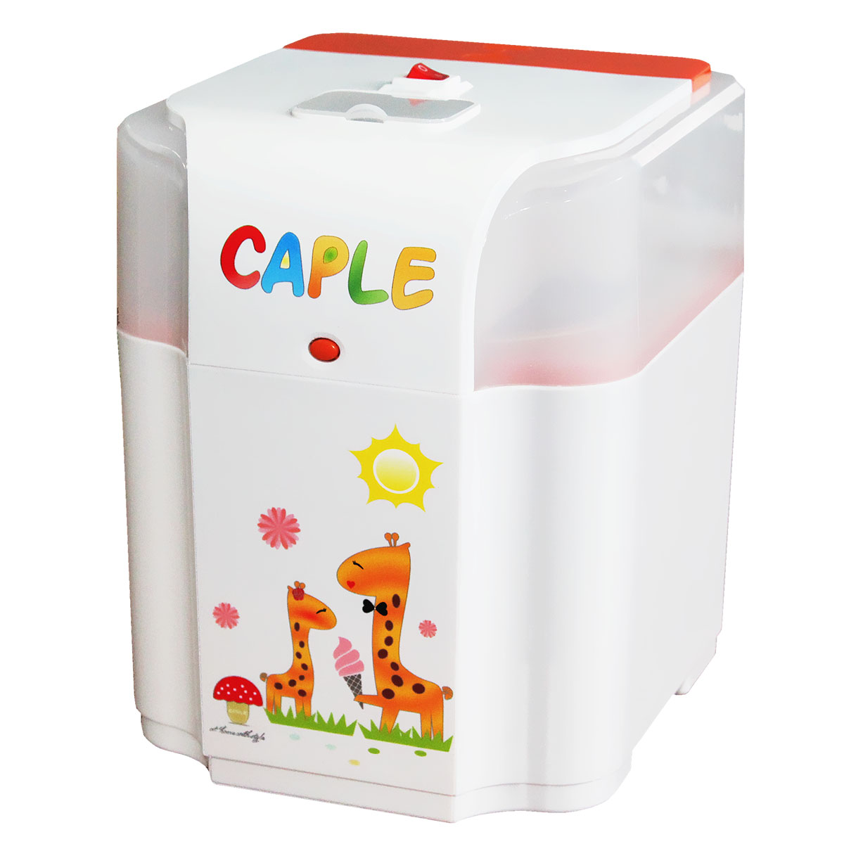 Home Automatic Cute Design Ice Cream Machine Small DIY Fruit Ice Cream Maker One Key Easy Operation Soft Ice Cone ToolHome Automatic Cute Design Ice Cream Machine Small DIY Fruit Ice Cream Maker One Key Easy Operation Soft Ice Cone Tool