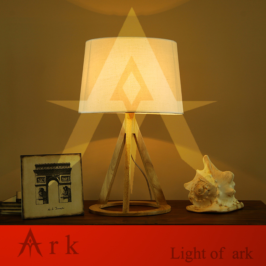 ark light creative led wood table lamp brief bedside light baby night light Home decoration reading Style desk lighting led night light bedside lamp night light smart colorful led wake up desk lamp creative home gift mini night light reading lamp