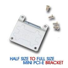 1 stücke Mini PCI-E Halb zu Volle Größe Erweiterung Karte Wireless WIFI PCI-Express Adapter Halterung Mit Schrauben freies verschiffen