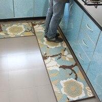 European Classical style Interior Kitchen Mat Home Entrance / Hallway Doormat Anti Slip Floor Carpet Kids Bedroom Area Floor Mat