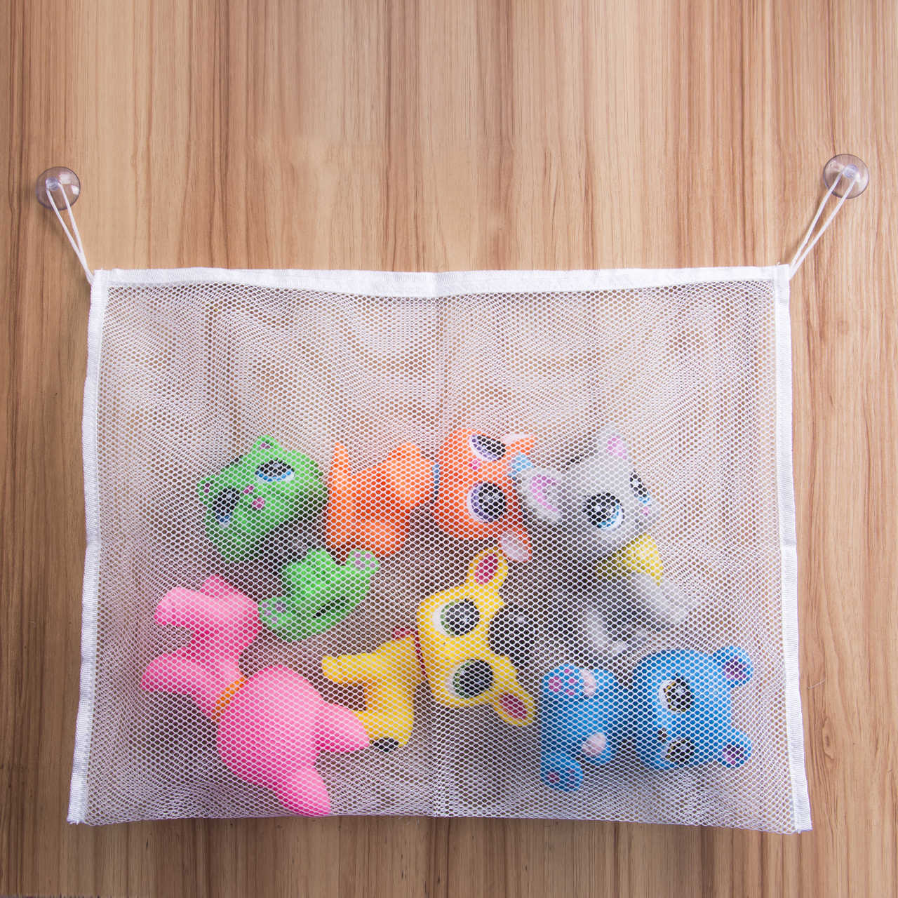 את מכירה לוהטת Faroot חדש כיף מגשר תינוק ילדים ילד אמבטיה תלויה צעצוע שקית אחסון תיק Sheer תיק פרייר באגי תיק גדול 45x35 cm