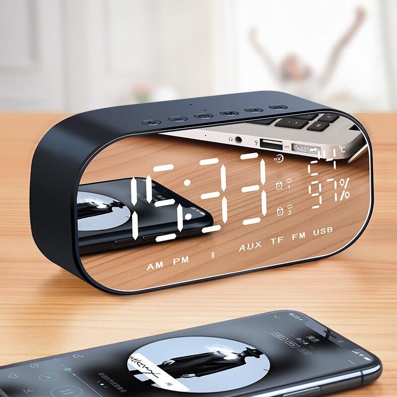 Shinco V5 sans fil Bluetooth haut-parleur Subwoofer petit canon ménage Mini ordinateur téléphone réveil petit Audio