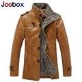 JOOBOX 2017 новая мужская кожаная куртка высокого качества мужские кожаные куртки и пальто slim fit байкер куртки бренд одежды (PY032)