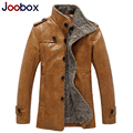 JOOBOX 2017 new men leather jacket high quality mens leather jackets and coats slim fit biker jacket brand clothing (PY032)