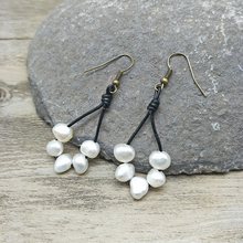 Youga Pearl Earrings Freshwater Pearls Bohemia Designer Elegant Classic Wedding Jewelry for women