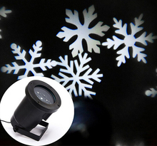 New Arrival 2016 Outdoor Christmas laser light projector, Laser snowflake projectors, Mini White Snow Xmas laser lights