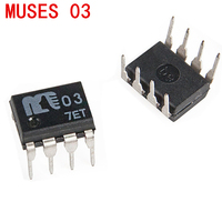 1 piece  MUSES03 op amp Single op amp muses 03 Operational amplifier chip free shipping