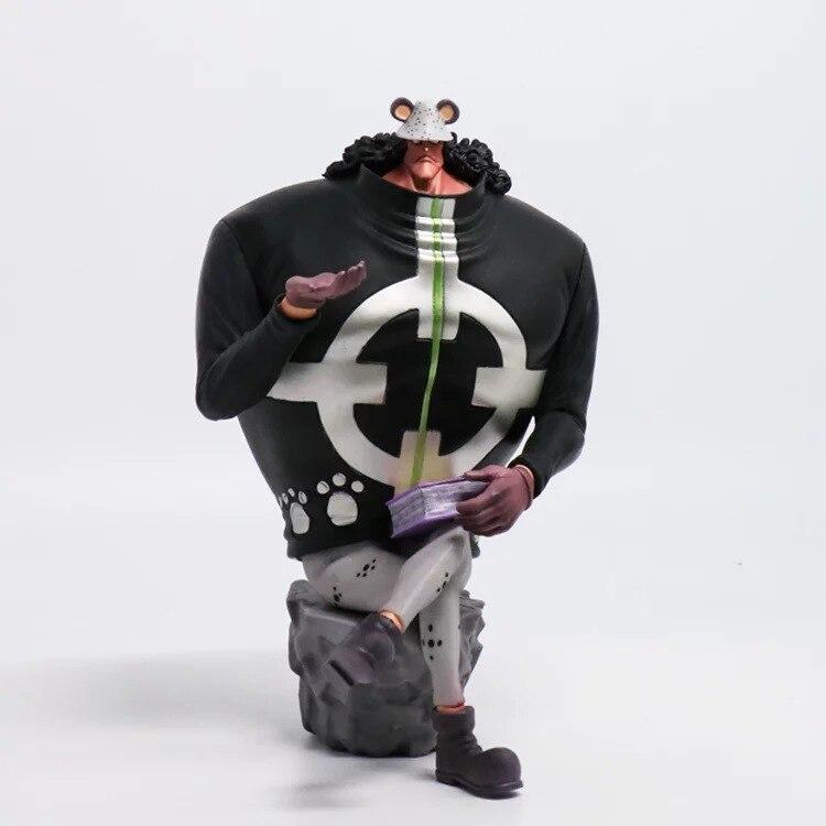 Anime One Piece Bartholemew Kuma Model PVC Toy Action Figure 15cm