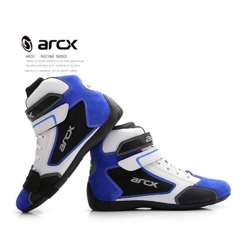 ARCX Off road Racing Men Shoes Summer Winter Motorcycle Motocross Riding Leisure Boots Motos Botas Motociclismo Chuteiras-in Motocycle Boots from Automobiles & Motorcycles    1