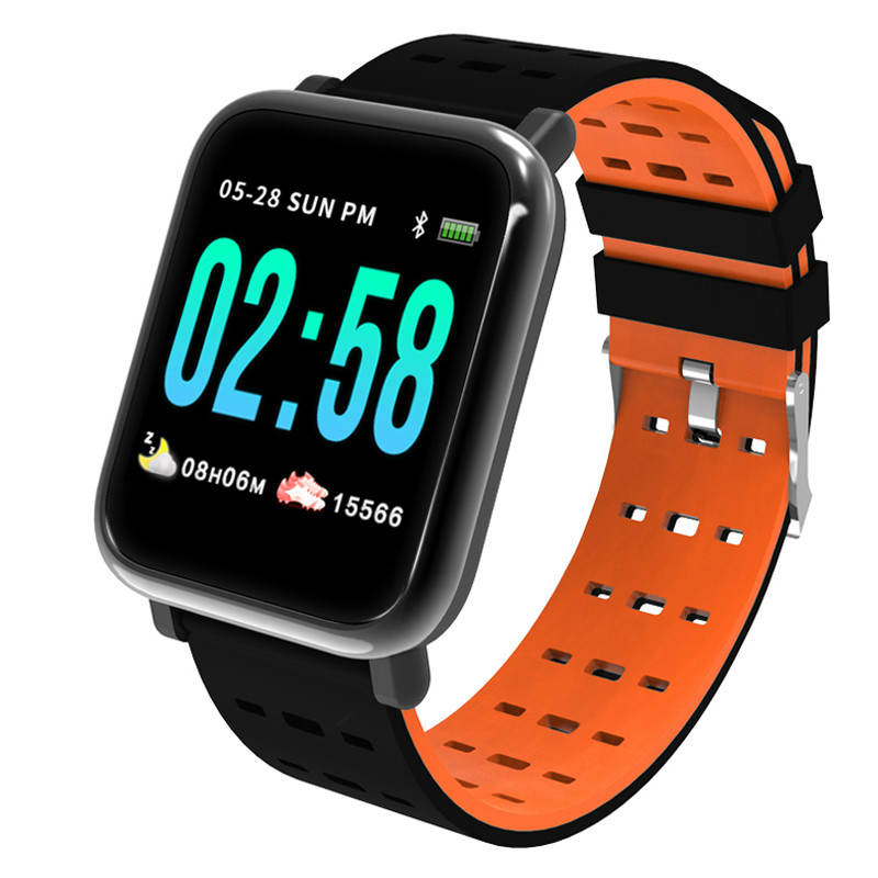 A6 Fitness Activity Tracker Heart Rate Smart Wristbands Watch Bracelet Men Blood Pressure Waterproof Women Measure smart watch sports fitness activity heart rate tracker blood pressure smart bracelet band waterproof smartband bracelet