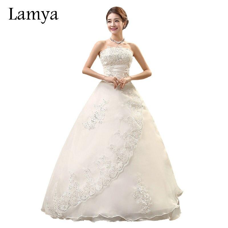LAMYA Real Photo Customized Princess Lace Wedding Dress 2018 Vintage Plus  Size Wedding Dresses Bridal Gowns 4ca75b1b4e1e