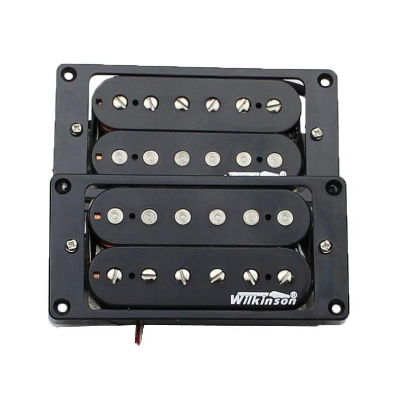 NEW Wilkinson Electric Guitar Humbucker Pickups WHHB neck bridge Alnico 5 Magnet Copper Nickel Base Made