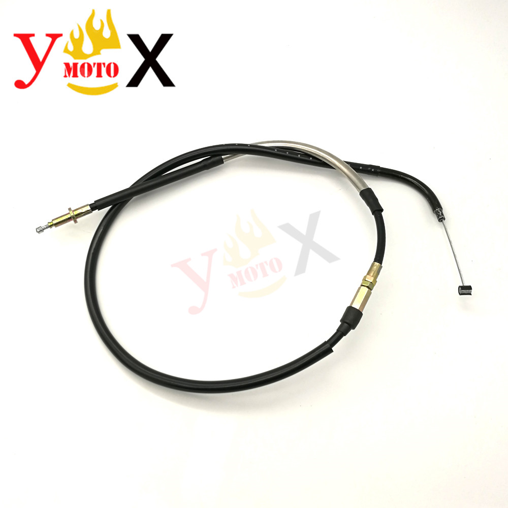 FZ6 Motorcycle Motorbike <font><b>Accessories</b></font> Steel Clutch Line Cable Wire For <font><b>Yamaha</b></font> <font><b>FZ6N</b></font> FZ6 FZ6 Fazer S2 2004-2009 2005 2006 2007 2008 image