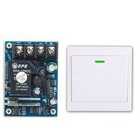 Latest DC12V 24V 36V 48V 1CH Remote Switch Receiver Wall Transmitter Wireless Power Switch 315MHZ Radio
