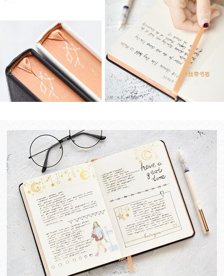 Ultimate SaleBlank Sketchbook Stationery Journal Hard-Cover Diary Beautiful Freenote Gift