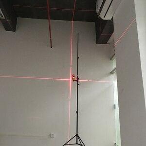 "Image 5 - 3m 2,2 m nivel láser fotografía trípode 1/4 ""interfaz negro soporte de extensión"