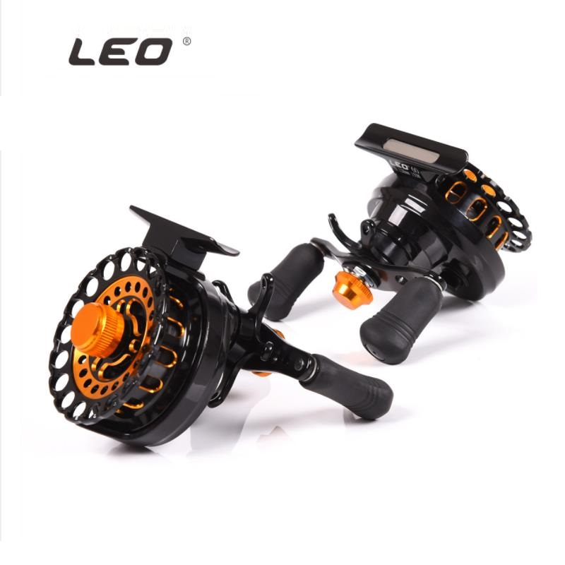 Fishing Reels Fly Fishing Raft Wheel Left Hand and Right Hand Gear ratio 2.8:1 Bearing 6+1BB German Technology Fishing Accessory