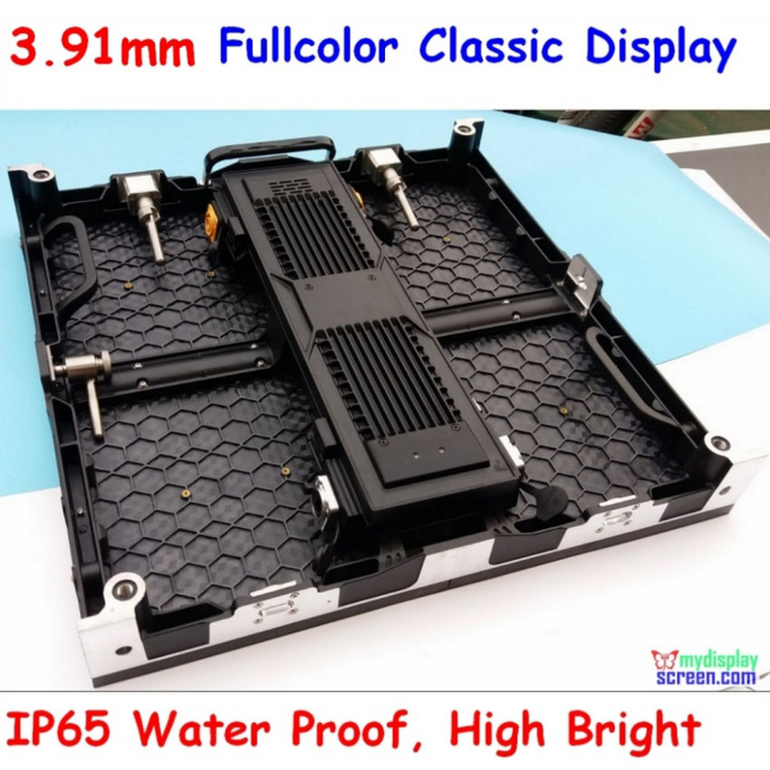 P3.91 2K Super Clear, Ultra Slim, High Refresh Rate, 500mm*500mm Rental Aluminium Alloy Led Display Screen