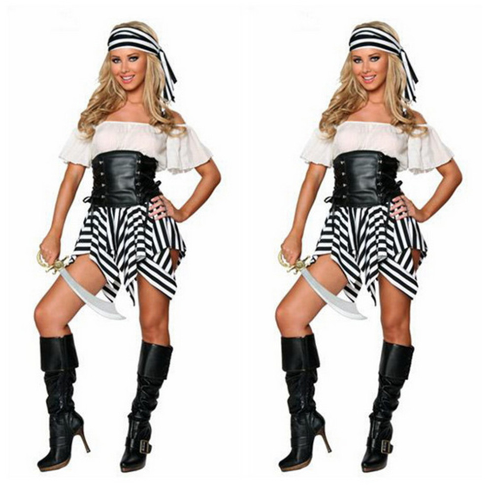 High Quality Wholesale pirate costumes female from China pirate ...