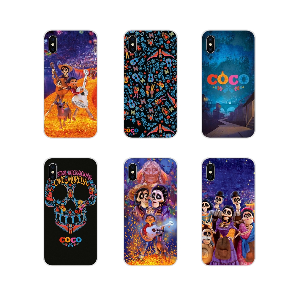 Cell Phone Case Covers cartoon movie Coco Miguel skull For Samsung Galaxy J1 J2 J3 J4 J5 J6 J7 J8 Plus 2018 Prime 2015 2016 2017 image