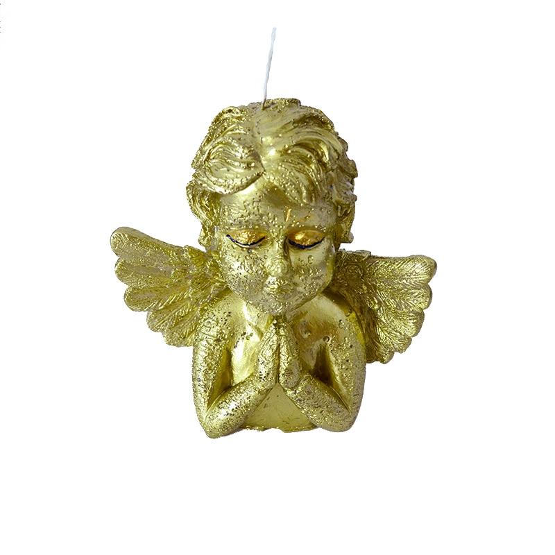 Moule en Silicone bougie ange prière pour la fabrication de savon moule bricolage artisanat en résine argile outil de décoration